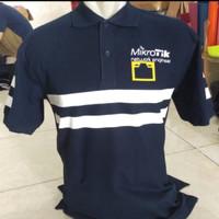 Kaos Kerah Polo shirt Mikrotik Engineer