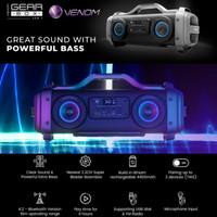 Venom Gear Box VGB-1 VGB1 Bluetooth stereo speaker audio mobil