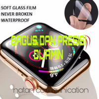 ANTI GORES POLYMER NANO APPLE WATCH IWATCH SOFT TEMPERED GLASS CLEAR