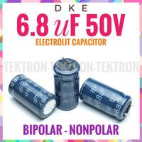 DKE 6.8uF 50V BIPOLAR Nonpolar BP NP Elco Audiophile Crossover HQ