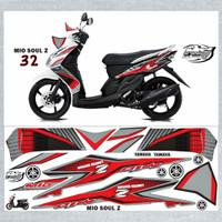 Striping Variasi Thailand Thailook Mio Soul Karbu (MIO SOUL Z & MX) *3