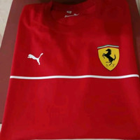 Baju Kaos Katun Pria Tshirt Ferrari Best Quality