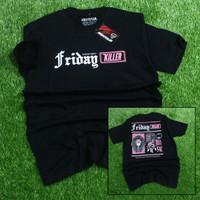 baju kaos friday killer tshirt murah free sticker