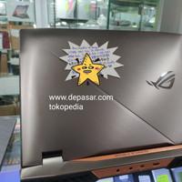 laptop gaming bekas asus rog G703 i9 ram 48GB SSD 512GB 2TB HHD murah