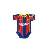 Baju Kaos Bola Bayi Anak Perempuan Laki Lucu I Jumper Barca Home