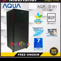Kulkas Lemari Es Aqua 1 Pintu AQR-D181 - Khusus Bogor dan Free Ongkir