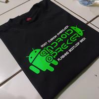 kaos t-shirt baju ANDROID OPREKER /kaos pria / teknisi tablet hp