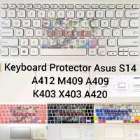Keyboard Protector Asus Vivobook Ultra K403 X403 S430FN S430UN A412