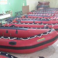 Perahu Karet - Speed Boat Type LCR PVC 360 capacity 6 person