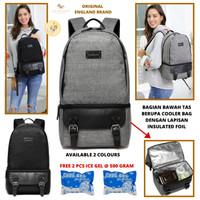Diaper Bag ORIGINAL ENGLAND BRAND with Cooler Bag Backpack Tas Bayi