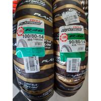 Paket ban Corsa Platinum R46 Uk 90 / 80 -14 dan 100 / 80 -14 TUBLESS