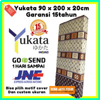 Kasur Busa INOAC YUKATA single 90x200X20 GARANSI 15Th Busa ANTI KEMPES