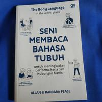 Buku Seni Membaca Bahasa Tubuh - Allan