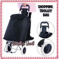 Trolley Shopping Bag Premium / Tas Trolley Belanja Lipat Fashionista