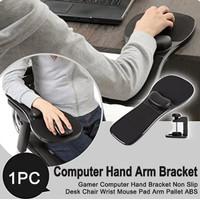 Dudukan Sandaran Tangan Kursi Meja Komputer Desktop Arm Rest Mouse Pad