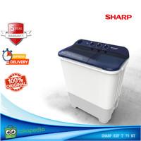 Mesin Cuci 2 Tabung Sharp ESF T75NT 8KG Low Watt Cuci dan Kering
