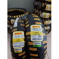 paket ban pirelli angel scooter 120/70-13 dan 140/70-13 for nmax
