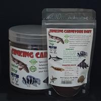 Sinking Carnivore Diet 75gr Repack pelet/pakan ikan predator / Hikari