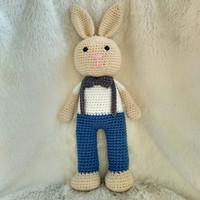 Amigurumi/Boneka rajut Bunny boy