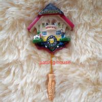 Fridge Magnet Tempelan Kulkas Souvenir Negara Jerman Germany Jam Clock