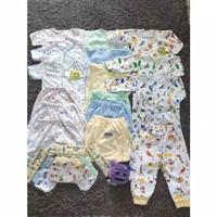 Set paket hemat 21 pcs baju setcel baby newbron