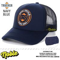 TOPI JARING TRUCKER HAT CAP DISTRO ROYAL ENFIELD CUSTOM PREMIUM 167