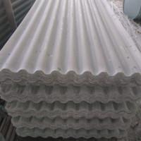 atap fiber gelombang , atap fiber bening