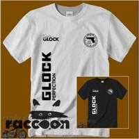 Kaos/Baju/T-shirt GLOCK TACTICAL NEW TEAM SIZE S - XXL