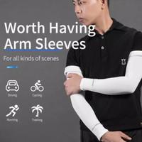 Rockbros Original Arm Sleeve Manset Tangan Sepeda Anti UV - Putih
