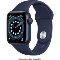 Apple Watch Series 6 40mm Blue Aluminium with Deep Navy Sport Band
