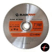Blackfoot Mata Gergaji Kayu 7 Inch x 150T - Circular Saw Blade Halus
