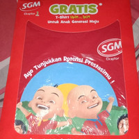 Baju anak dari SGM tersedia motif Upin Ipin