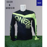 Baju Sepeda Olahraga Kaos Balap Gowes print Premium Trail Oneal - Oneal, M