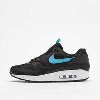 Sepatu Nike Air Max 1 SE Black Blue Fury Original
