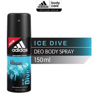 ADIDAS DEODORANT BODY SPRAY 48H ICE DIVE 150 ML