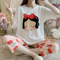 Piyama 309 Import Baju Tidur 7/8 Anak Perempuan Remaja Wanita Dewasa