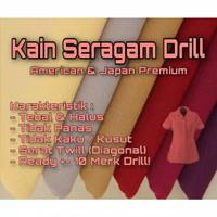 kain cotton american drill/bahan seragam