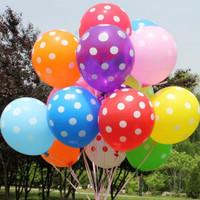 Balon polkadot / balon latex polkadot 12 inch