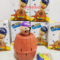 Mainan anak Crazy pirates Pirate roulette Family game