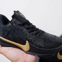 Sepatu Basket Nike Kobe Mamba Fury Low Black Gold