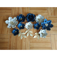 paper flower/ bunga kertas/ backdrop bunga/ dekorasi bunga kertas