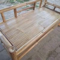 bangku bale bambu/bale santay