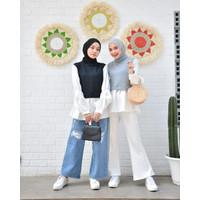 Pricia Blouse - Atasan Remaja Wanita Fashion Realpict Blouse Cewek
