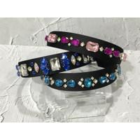 Crystal hair band, bando crystal premium cantik mewah, limited design