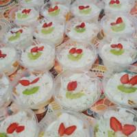 salad buah cup