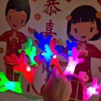 AB Bando led lampu tanduk RUSA party tahun baru natal ulang tahun anak