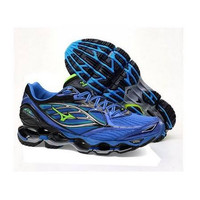 sepatu volly mizuno wave propecy 6 blue premium original quality