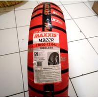 Ban New Scoopy 110/90-12 M922 Ban Belakang Maxxis Tubeless