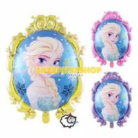 BALON FOIL ELSA FROZEN CERMIN 71cm Dekorasi Ulang Tahun Princess Elsa