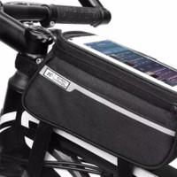 tas sapeda waterproof smartphone bisa semua jenis sepeda